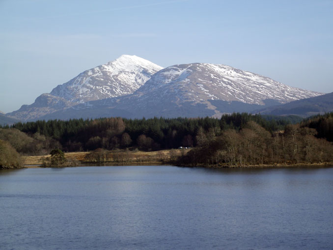 Beautiful Mountain View near Loch Awe - Scotland