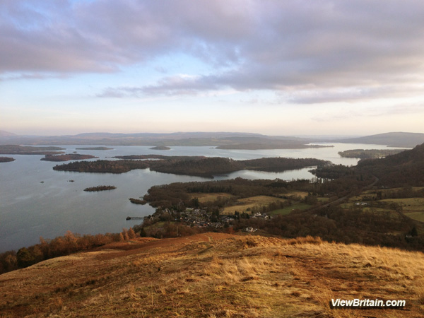 Small Scottish Islands Loch Lomond and Trossachs Scotland