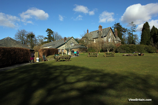 Lydford-Gorge-Tea-Room-and-picnic-area