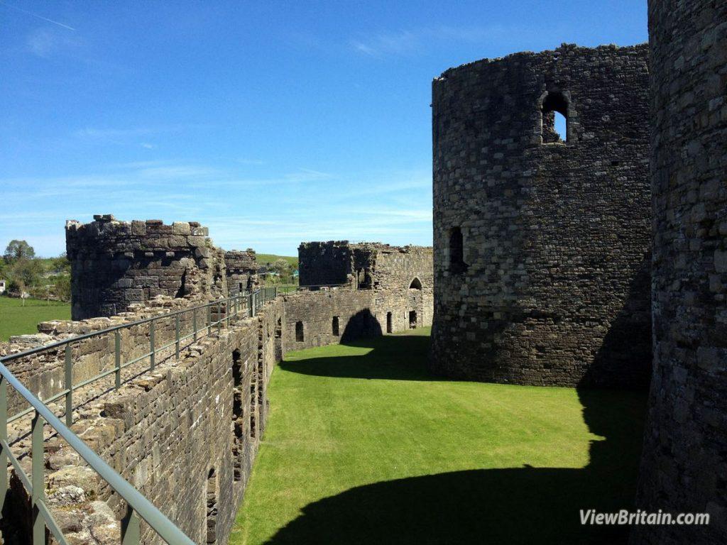 Beaumaris-Castle-Outer-Wall
