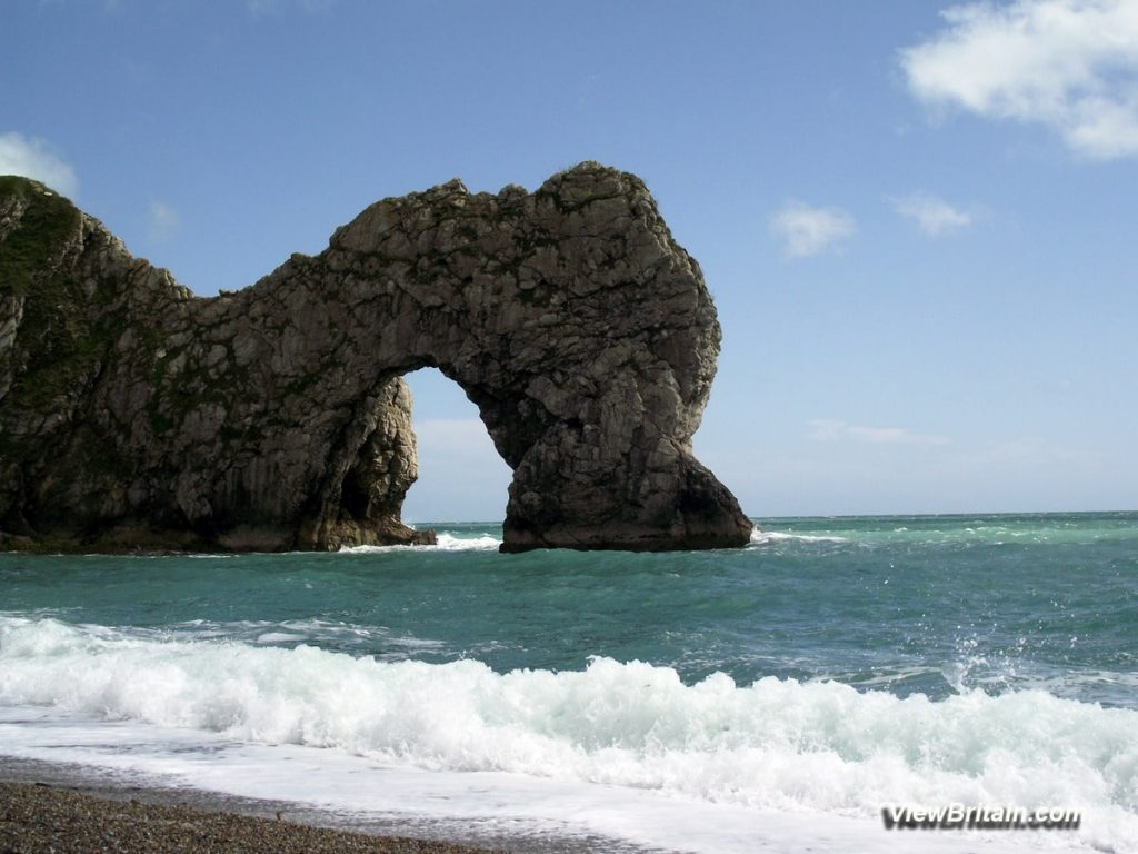 Durdle-Door-Limestone-Arch-Lulworth-Dorset-England