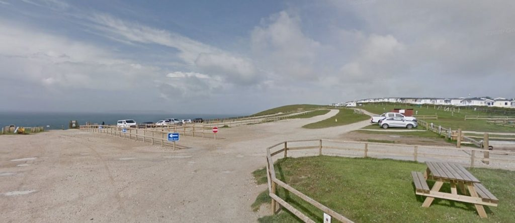 Durdle-door-car-park-picture-google-street-view