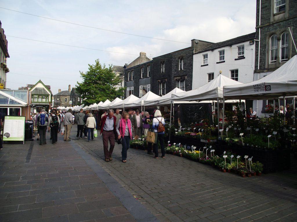 Keswick-Market-on-a-Saturday-Lake-District