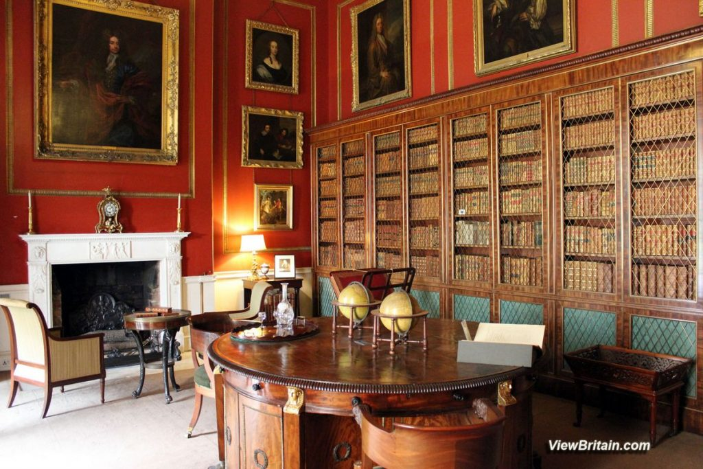 Library-in-Attingham-Park
