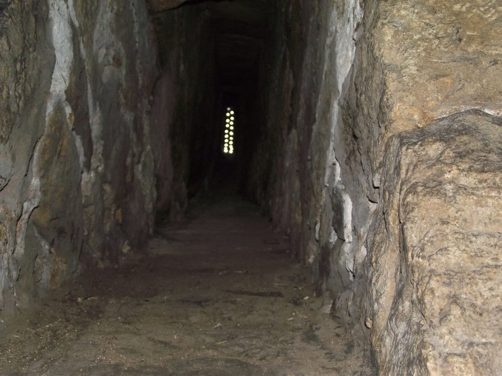 Very-small-window-in-27-feet-underground-dungeon-at-Chirk-Castle-Wales