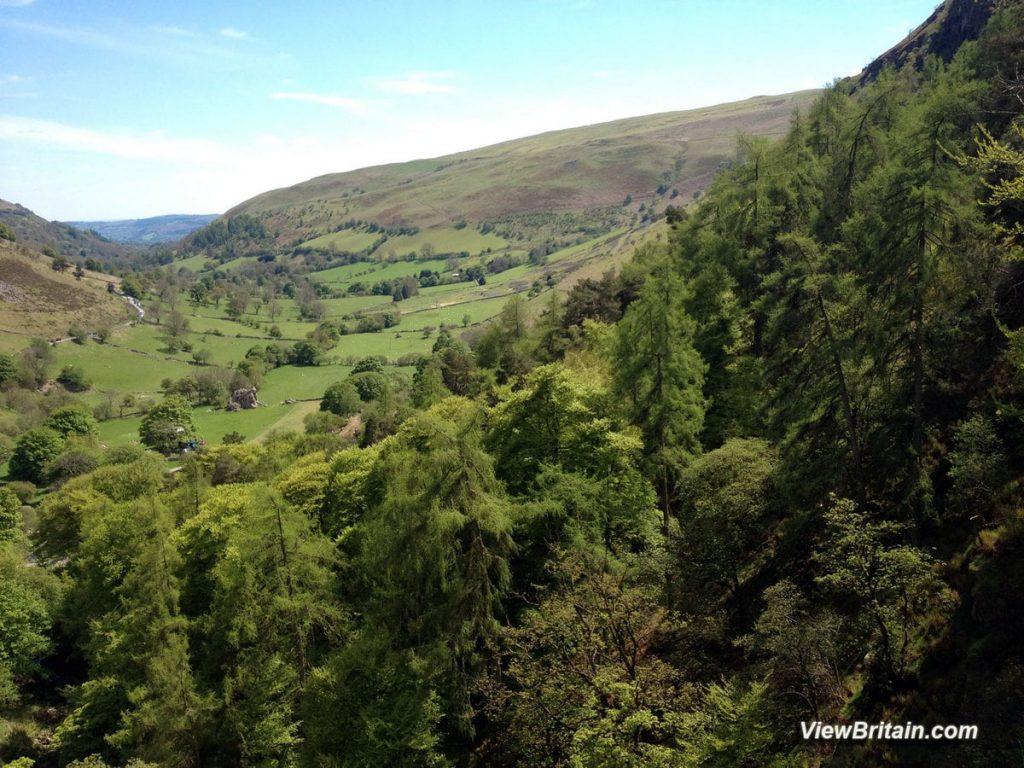 View-from-Pistyll-Rhaeadr-Waterfall-Wales