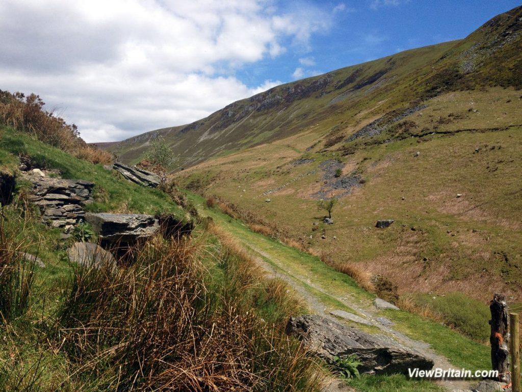 Walks-near-Pistyll-Rhaeadr-waterfall-Powys-Wales